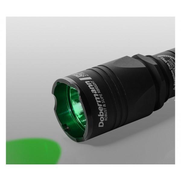 Тактический фонарь Armytek Dobermann (зеленый свет)