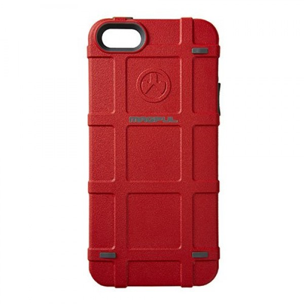 Чехол для iPhone 5/5S/SE. Magpul. Bump Case (красный)