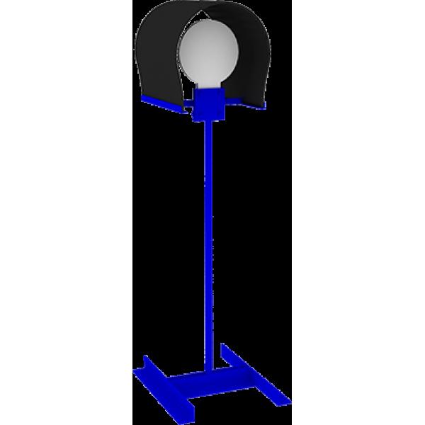 Мишенная установка  «Неваляшка на стойке с защитой»
