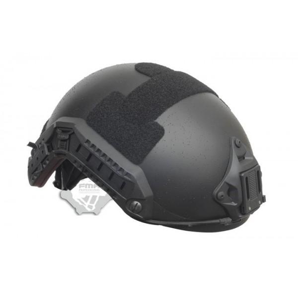 Баллистический кевларовый шлем (каска)  (аналог Ops-Core), черный