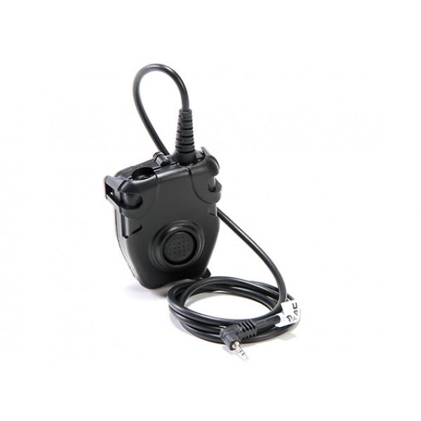 Активные наушники с микрофоном Z-Tactical Zordin Z111 + переговорное устройство на 3,5 мм