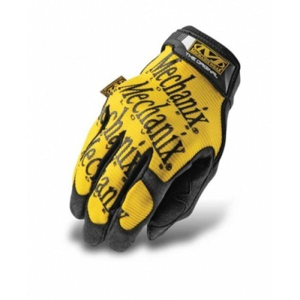 Перчатки тактические Mechanix (желтый)