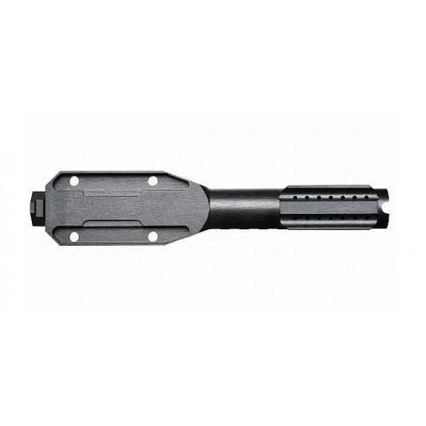 Газовая трубка с планкой Вивер VS-33с для нарезных карабинов АК/Сайга/Вепрь (крепеж - сухари)